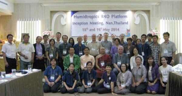 Inception meeting of the R4D Platform in Nan, Thailand. Photo by Pimsiri Tiyayon/AVRDC.