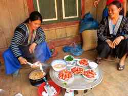 Introducing Tomatoes to Hmong Women in Northwest Vietnam