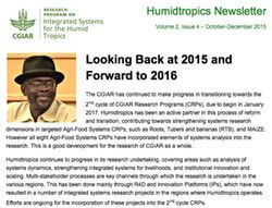 The Humidtropics October-December Newsletter is Out!