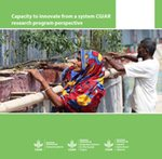 Capacity to innovate from a system CGIAR Research Program perspective