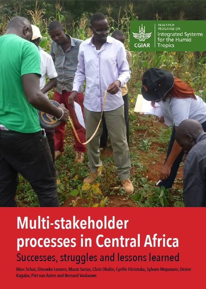 Cover Lessons Learned Multi-Stakeholder Processes in Central Africa