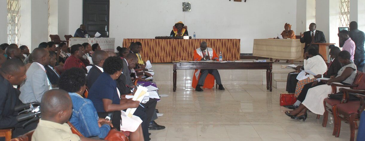 The Kabale District Council passing the PASIC motion.